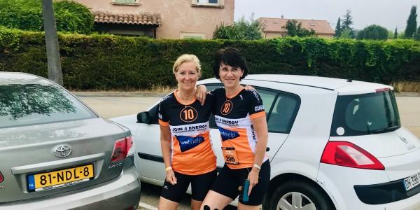 21 km voor het medicijn - Jetske en Sophia