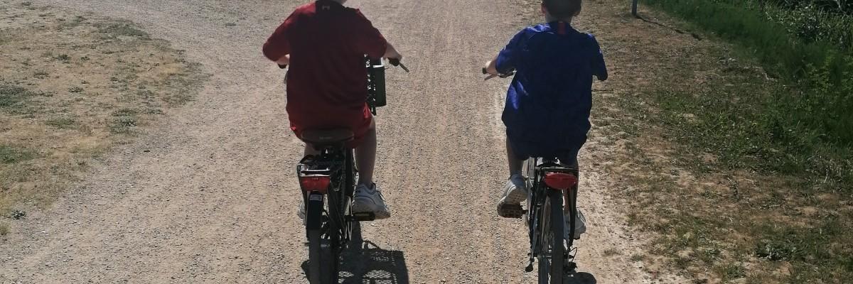 21 km fietsen